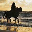 Jezdci na pobřeží