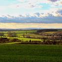 tak se nám zelená podzimní krajina na Moravě