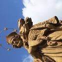 Sv. Jan Nepomucký na kamenném mostě v Písku