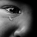 Smutek v dětských očích