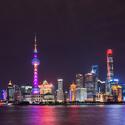 Noční Šanghai