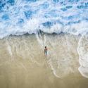 Chlapec versus moře