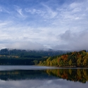 Podzim na přehradě