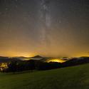 Hvězdná obloha nad Národním parkem