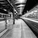 Na nádraží...
