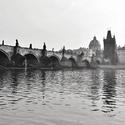 Karlův most po dešti