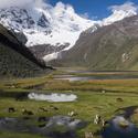 Cordillera Huayhuash s Lagunou Jauacocha