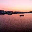 Západ slunce ve Swanage