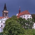 Bouřka nad Sázavským klášterem
