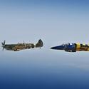 Tandem, Spitfire Mk.XVIE & L-39 Albatros