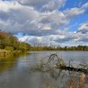 Podzimní rybník Nová Louka 2