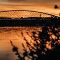 Západ slunce Praha