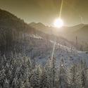 Vysoké Tatry a studený západ