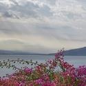 Galilejské jezero v Izraeli