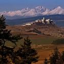 Spišský hrad a Tatry ...
