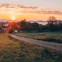 Východ slunce nad Studánkami