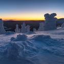 Ledový bubáci na Červené hoře
