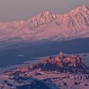 Spišský hrad a Tatry / Zimné pohľady ...