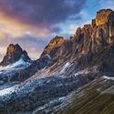 majestát na Passo di Giau