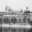 Praha pod sněhem