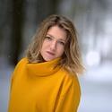 Portrét, sníh, les