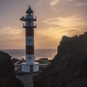 Západ slunce na Punta de Teno