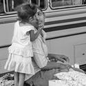 Mami, mám tě ráda! /Černobílá Srí Lanka/
