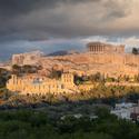 Zapad nad Akropolisom