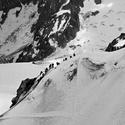 Přelidněno pod Mont Blancem