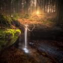 Vodopád v Lužických horách
