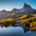 Podzim v Dolomitech