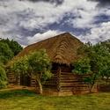 Stará drevená stodola