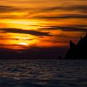Západ slunce na Limnosu