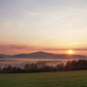 Májový východ slunce