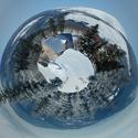 Zimní Malá Úpa v kruhu