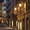 Noc ve městě