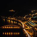 Výhled na Ústí nad Labem