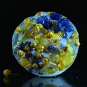Ledové variace-žlutá a modrá