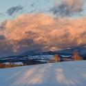 Sněhová bouře na obzoru