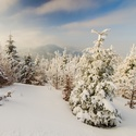Zima na Lysé