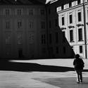 Na 2. nádvoří Pražského hradu