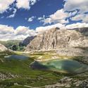 Laghi del Piani, Dolomity