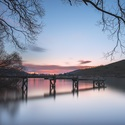 Sunrise at lake Hayes.