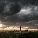 Bouře nad Olomoucí