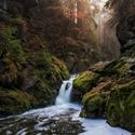 Vodopád řeky Doubravy