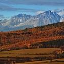 Jesenné pohľady k Tatrám