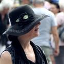 dáma a klobúk