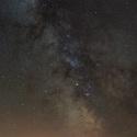 Noční obloha - rozhledna Eliška