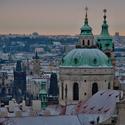 Pražská panoramata - sv. Mikuláš