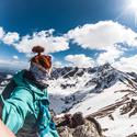 Pohled na Tatry skrz GoPro HERO5
